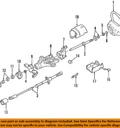 details about ford oem steering column bearing support f5tz3d681a [ 1000 x 933 Pixel ]