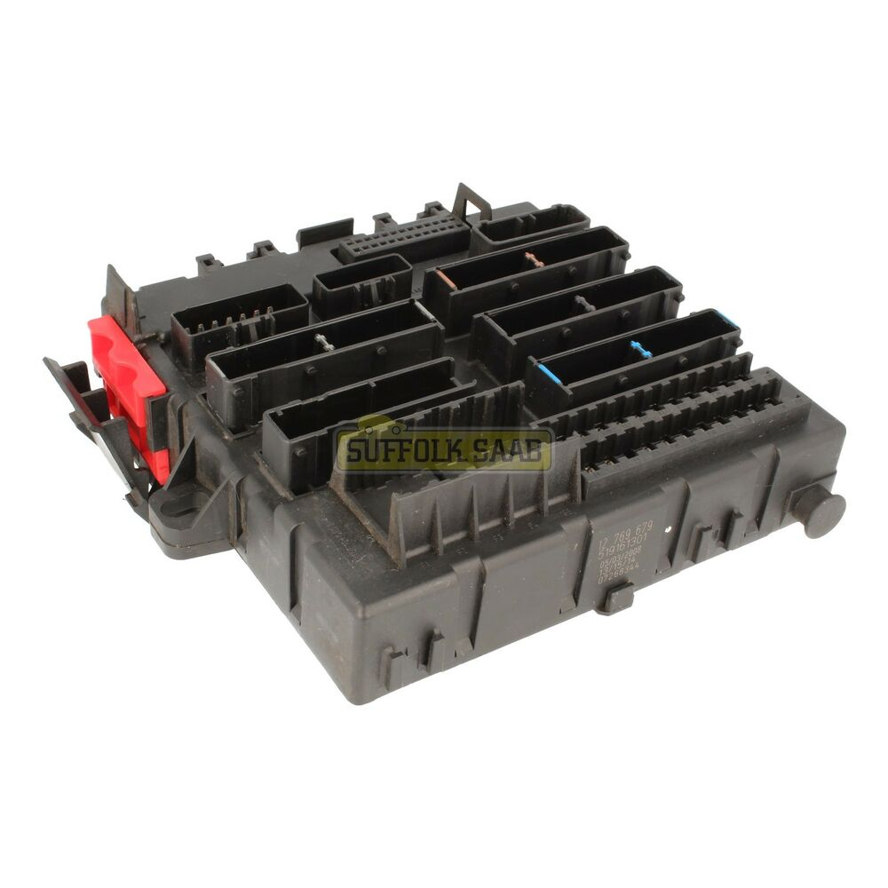 hight resolution of saab 93 9 3 9440 03 12my rear electrical distribution unit fusebox 12804331 used ebay