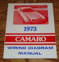 details about 1973 chevrolet camaro wiring diagram manual 73 chevy [ 1000 x 974 Pixel ]