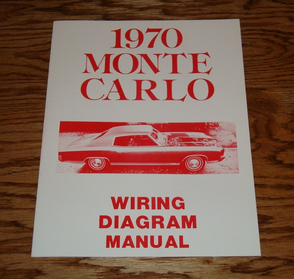 1970 70 Chevelle Ss Wiring Diagram Manual Ebay