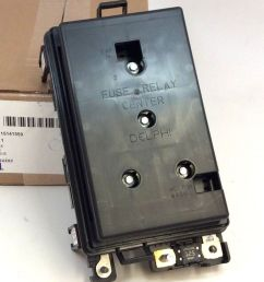 buick rainier chevy trailblazer wiring junction block fuse relay box new oem ebay [ 857 x 1000 Pixel ]