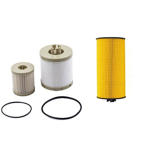 small resolution of details about diesel oil fuel filter kit fd4616 2016 for 2003 2007 ford 6 0l powerstroke