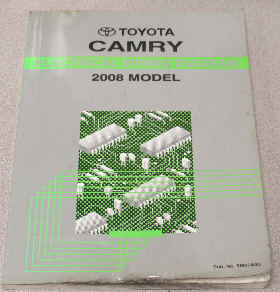 medium resolution of 2008 toyota camry electrical wiring diagram service manual ebay 2008 camry stereo wiring diagram 2008 camry wiring diagram