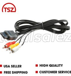 details about for nintendo n64 n 64 video game system rca av tv audio stereo 6 cable cord [ 1000 x 1000 Pixel ]