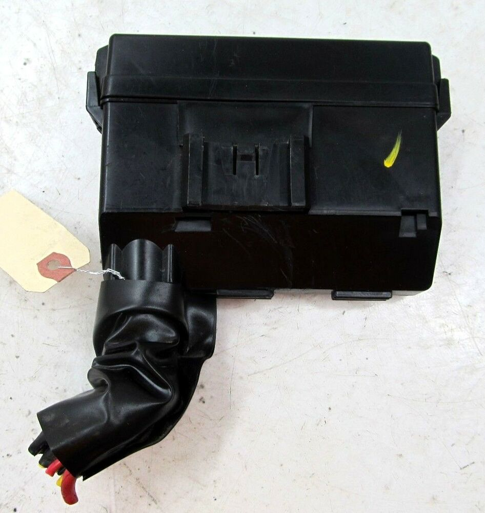hight resolution of details about 2009 2013 infiniti g37 convertible oem right front engine bay fuse relay box