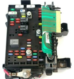 details about 2002 2003 chevy trailblazer engine fuse box oem [ 1000 x 1000 Pixel ]