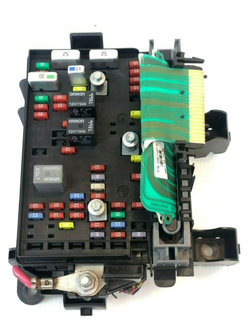 small resolution of details about 2002 2003 chevy trailblazer engine fuse box oem