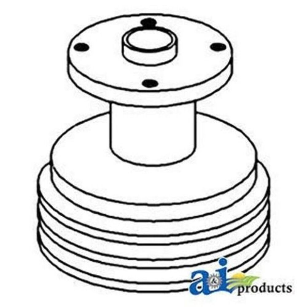 162073A Pulley, Water Pump Fits White/Oliver/Mpl Moline