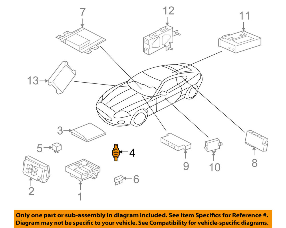 hight resolution of details about jaguar oem 07 15 xkr fuse relay terminal lja1380ab