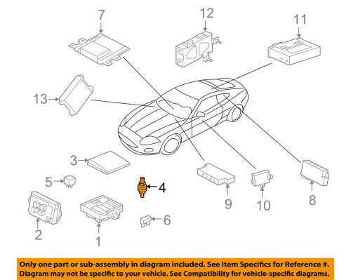 small resolution of details about jaguar oem 07 15 xkr fuse relay terminal lja1380ab