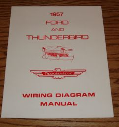 details about 1957 ford thunderbird wiring diagram manual brochure 57 [ 1000 x 972 Pixel ]