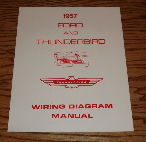 small resolution of details about 1957 ford thunderbird wiring diagram manual brochure 57