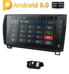 details about for toyota tundra sequoia 2008 2013 9 android 8 1 car radio stereo gps indash [ 1000 x 1000 Pixel ]