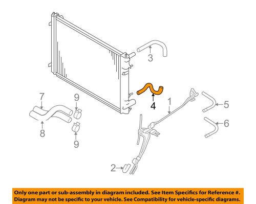 small resolution of details about subaru oem 06 07 b9 tribeca 3 0l transmission oil cooler front hose 45520xa02a