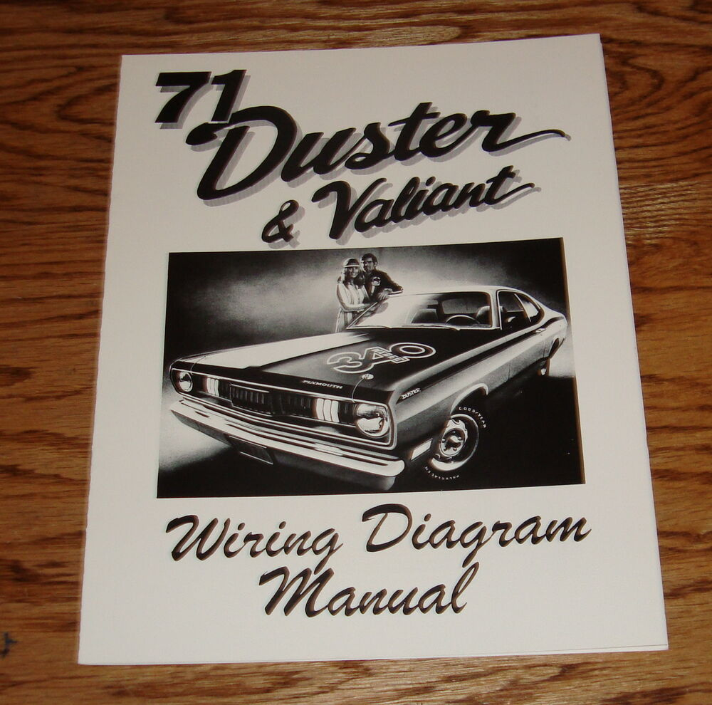 medium resolution of details about 1971 plymouth duster valiant wiring diagram manual 71