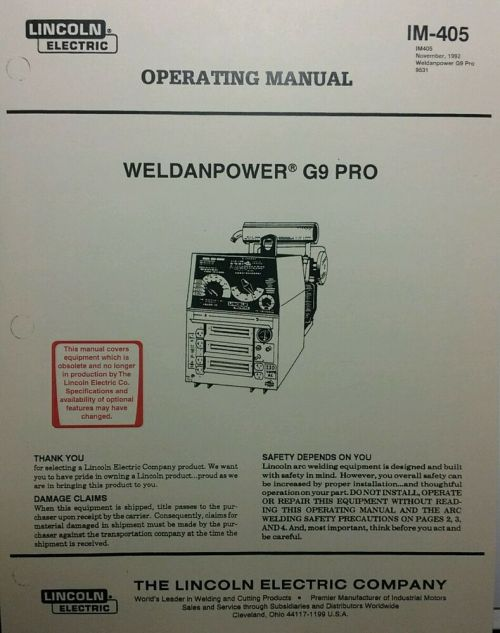 small resolution of details about lincoln weldanpower g9 pro 250 welder onan operating service parts 4 manuals