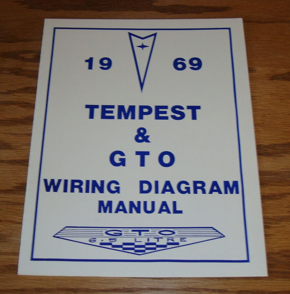 medium resolution of details about 1969 pontiac tempest gto wiring diagram manual 69