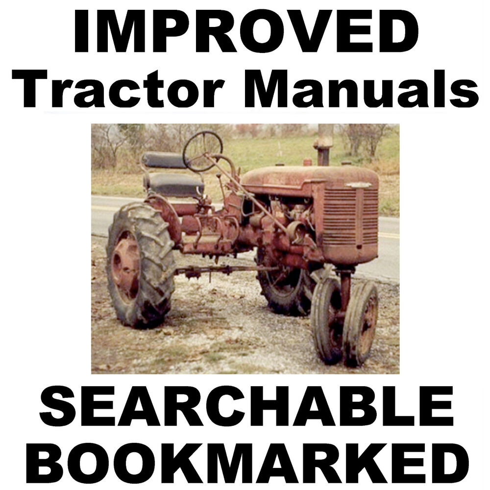 hight resolution of details about ih farmall b bn service manual parts catalog 2 tractor manuals searchable