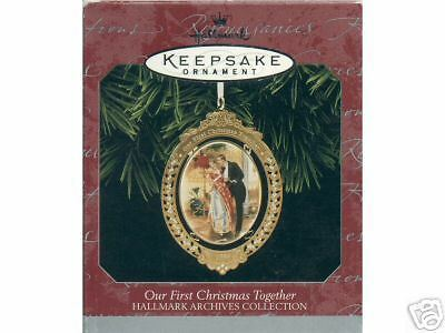 Hallmark Ornament Our First Christmas Together1998 Rare Ebay