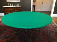 Original Poker Felt Casino Style Round Tablecloth cover ...