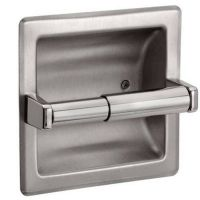 Recessed Toilet Paper Holder - Brushed Nickel | eBay