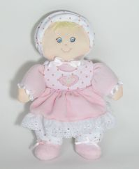 Pink Baby Doll Stuffed Plush Toy
