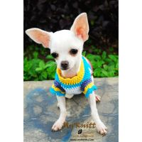 Cute Dog Clothes Handmade XXS XS S M Crochet Pet Clothing