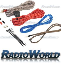 details about edge amplifier wiring kit 10 awg car audio sub amp [ 1000 x 1000 Pixel ]