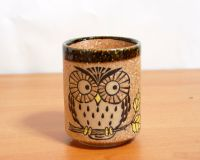 Owl Sushi Tea Cup 3733347 made in Japan with Japanese ...