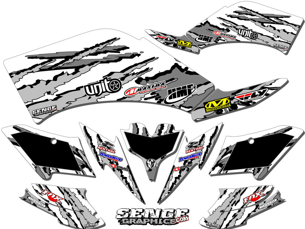 LT 50 LT50 SUZUKI GRAPHICS KIT DECO DECALS 1984 1985 1986