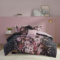 BEAUTIFUL MODERN ELEGANT BLACK WHITE GREY COMFORTER SET ...