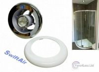 Chrome White Grill & Light + Transformer for Bathroom