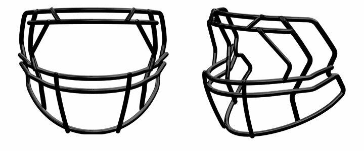 Riddell Revolution SPEED S2EG-LW Football Helmet Facemask