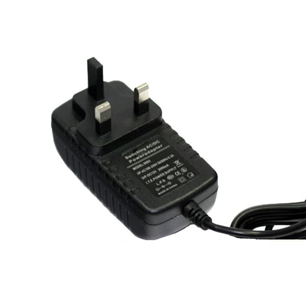 Ac Dc Adapter 12v 2a Uk Power Supply Mains Led Strip Transformer
