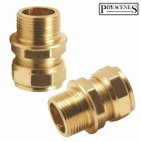 "Hansgrohe Pair 3/8"" Inch Flexi Tail Pipe Adapter Fitting"