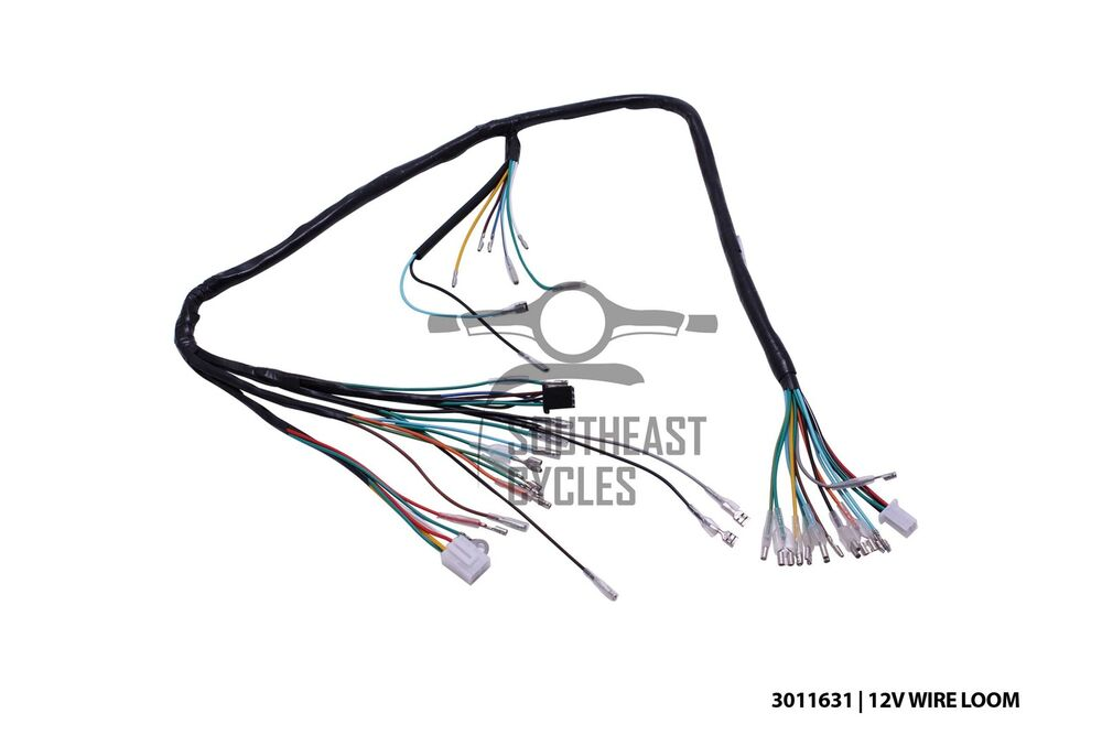 50 gyro scooter wire wiring harness loom ebay on honda 50 wire