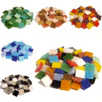 1600 Vitreous Glass mosaic tiles for Arts and Crafts ...