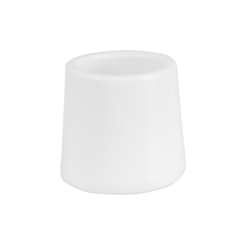 100 PACK White Color Folding Chairs Foot Caps For Rental