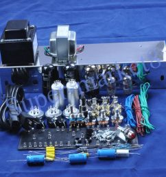 details about fenders 5e3 deluxe guitar tube amp 6v6 push pull kit chassis diy [ 1000 x 1000 Pixel ]