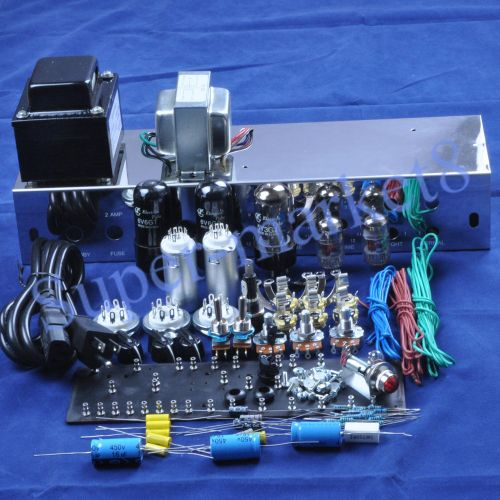 small resolution of details about fenders 5e3 deluxe guitar tube amp 6v6 push pull kit chassis diy