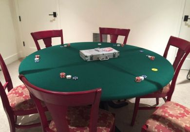 Felt Poker Table Cloth Ebay