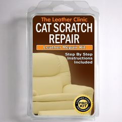 How To Fix Tear Leather Sofa Red Sofas Uk Tlc Cat Scratch Repair Kit. Easy Use. Complete ...