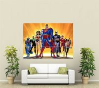 Super Hero's Superman Justice League Giant XL Section Wall ...