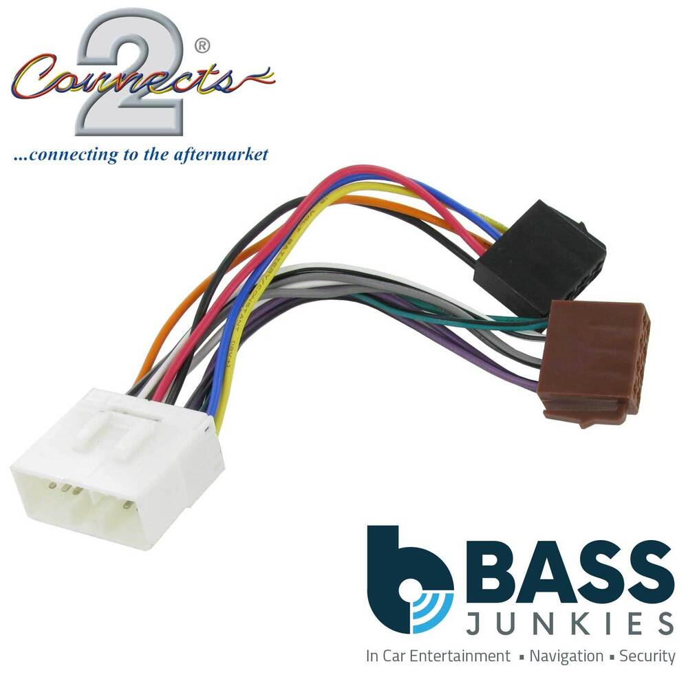 hight resolution of details about connects2 ct20su01 to fit subaru svx 92 96 car stereo radio iso harness