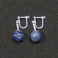Clip On - Blue Potara Fusion Earrings Dragon Ball Z ...