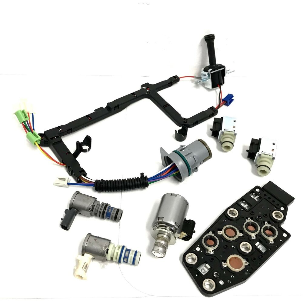 hight resolution of details about 4l60e solenoid set including wire harness 2003 2005 for gm 7 pieces