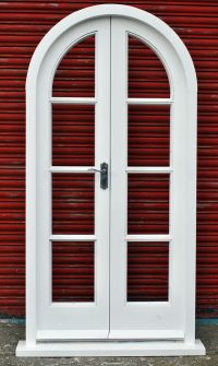 Hardwood Arched French Doors!!! Made to measure!!! Bespoke ...