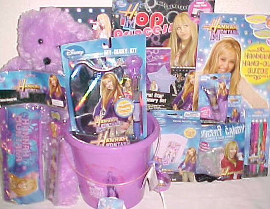 NEW HANNAH MONTANA TOY EASTER GIFT BASKET TOYS Diary