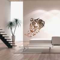 Wall Stencils For DIY Decor Rooms Kids Template Tiger ...