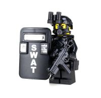 SWAT Pointman Police Officer Minfigure (SKU50) made with ...